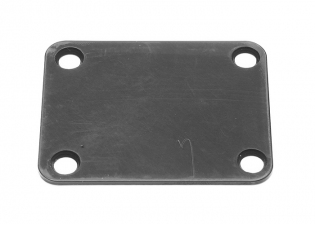 4 Hole Neckplate • Black