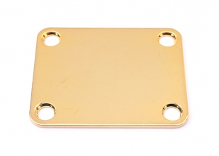4 Hole Neckplate • Gold