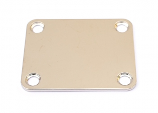 4 Hole Neckplate • Nickel