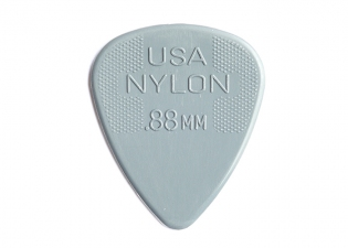 Dunlop Pick • Nylon Standard • .88 Dark Grey