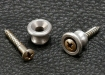 Gibson® Style Strap Buttons • Aluminium • Aged/Relic