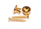 Gibson® Style Strap Buttons • Gold