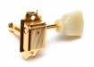 Gotoh® SD90 3x3 Vintage Tuners • 8.8 mm Bushing • Keystone Button • Gold
