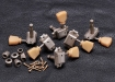 Gotoh® SD90 3x3 Vintage Tuners • 8.8 mm Bushing • Keystone Button • Nickel • Aged/Relic