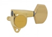 Gotoh® 3x3 Tuners • SG301 (Grover® Style) • Gold • Large Modern Button