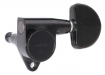 Gotoh® 3x3 Tuners • SG301 (Grover® Style) • Black • Kidney Button