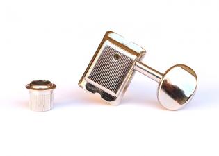 Gotoh® 6-In-Line Vintage Tuners • Nickel • Staggered Posts