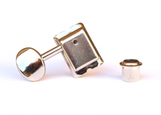 Gotoh® SD91 6-In-Line Vintage Tuners • Nickel • Left Handed