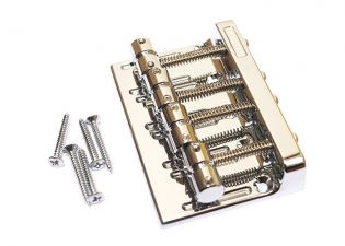 Gotoh® Bass Bridge • 201B-4 • Chrome