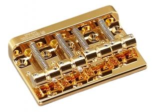 Gotoh® Bass Bridge • 201B-4 • Gold
