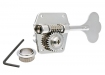 Gotoh® GBR640 Reverse Wind Res-O-Lite Bass Tuners • Left Or Right Side(Reversible) • Nickel