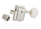 Gotoh® SD91 6-In-Line Vintage Tuners • White Button • Nickel