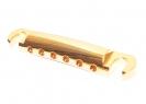 Gotoh® Stopbar Tailpiece • Gold • Metric Studs