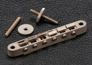 Gotoh® Tune-O-Matic Bridge • Modern ABR-1 • Nickel • Aged/Relic