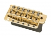 Gotoh® Vintage Stratocaster® Style Tremolo Bridge • Stamped Saddles • Steel Block • Gold • Left Handed
