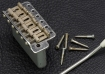 Gotoh® Vintage Stratocaster® Style Tremolo Bridge • Stamped Saddles • Steel Block • Chrome • Aged/Relic
