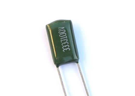 green poly film capacitor 033 uf wiring parts guitartrade green poly film capacitor • 033 uf