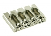 Hipshot® Bass Bridge • A Style w/Fender® Mount • Aluminium • Chrome