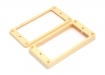 Humbucker Pickup Mounting Rings • Flat • Cream