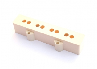 Jazz Bass® Style Pickup Cover • White • Neck