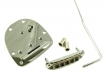 Jazzmaster®/Jaguar® Style Tremolo Bridge And Tailpiece • Chrome