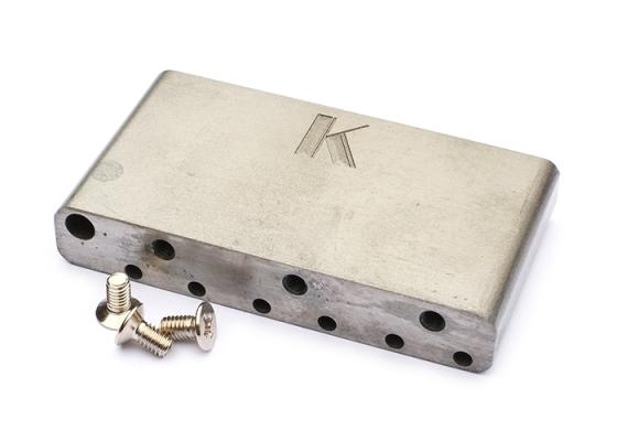 Kluson Vintage Sustain Block, Steel | Bridge Parts | Guitartrade