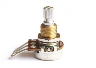 Mini Potentiometer • Metric • 250k • Split Shaft • Bourns®
