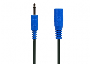 Power-All® Cable for Pedal Power Supplies • 3.5 mm Phone Plug • Straight