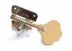 Schaller® CBS Fender® Style Left Or Right Side(Reversible) Bass Tuners • BMFL • Nickel