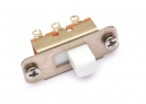 Switchcraft® Slide Switch • 2-Way (Jaguar®/Jazzmaster® Style) • White Tip