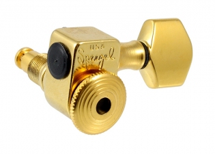 Sperzel® Trim-Lok 6-In-Line Locking Tuners • Gold