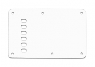 Stratocaster® Style Tremolo Backplate • Vintage • White Thin