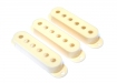 Stratocaster® Style Single Coil Pickup Covers • Antique White
