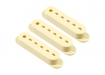 Stratocaster® Style Single Coil Pickup Covers • Cream