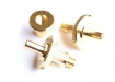 Studs and Anchors for Nashville Tune-O-Matic Bridge • Gold