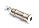 Switchcraft® Threaded Barrel Output Jack Socket • Mono • Nickel