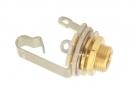 Switchcraft® Output Jack Socket • Mono • Gold