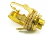 Switchcraft® Output Jack Socket • Stereo • Gold