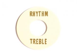 Gibson® Style Rhythm/Treble Selector Switch Ring • Cream