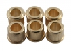 Kluson® Tuner Bushing • Metric • 10 mm OD / 6.14 mm ID • Gold
