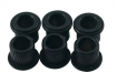 Kluson® Tuner Bushing • Metric • 8.85 mm OD / 6.14 mm ID • Black