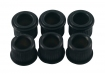 Kluson® Tuner Bushing • USA • 10 mm OD / 6.35 mm ID • Black