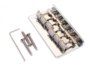 Vintage Hardtail Stratocaster® Style Fixed Bridge • Chrome