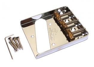 Wilkinson® Vintage Telecaster® Style Bridge • Chrome